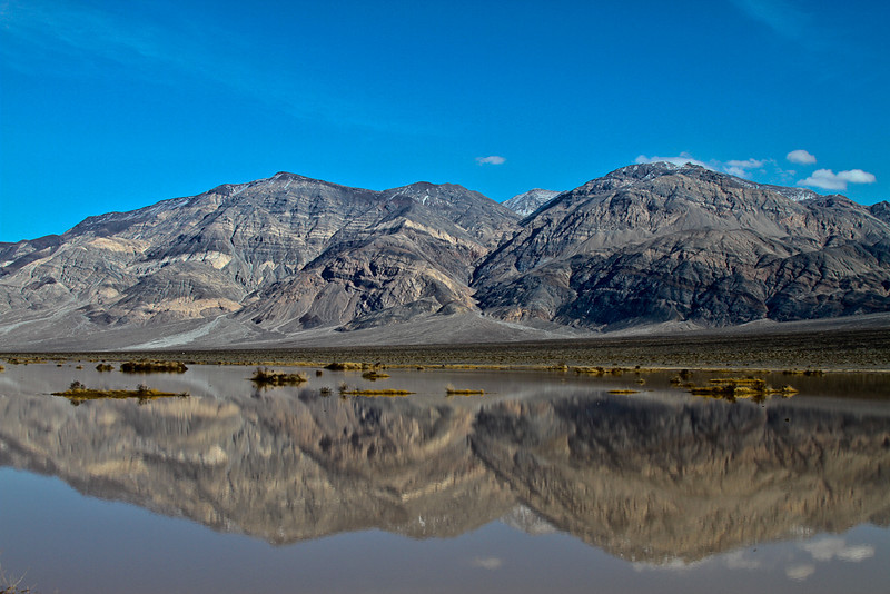 Panamint Butte as viewed from Panamint Dry Lake, January 2010