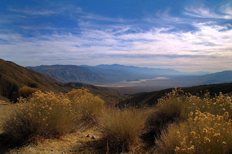View south into the Panamint Valley.