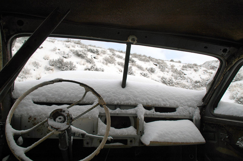 View from the inside.