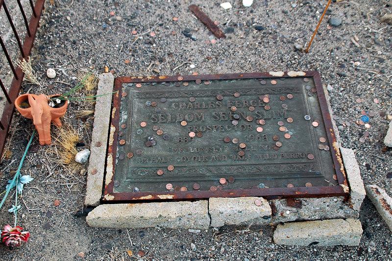 "Charles Ferge, Seldom Seen Slim, Prospector, 1889-1968, ""Me Lonely? Hell No! I'm Half Coyote And Half Wild Burro!"""
