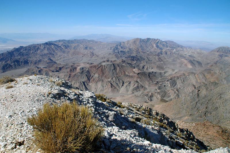 Schwaub Peak to the northwest.