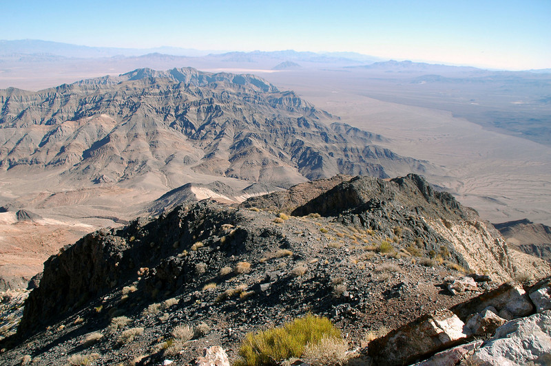 Eagle Mountain in the distance to the southeast.