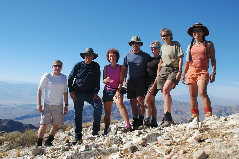On Pyramid Peak at 6,703 feet.