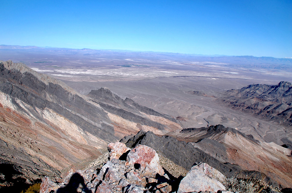 Looking northeast into Nevada.