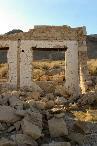 Ghost town of Rhyolite, Nevada