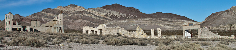 Ghost town of Rhyolite, Nevada