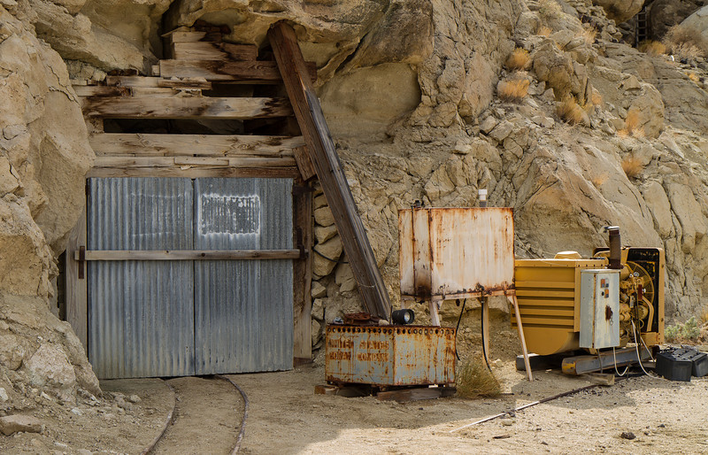 70 Ryan Camp - The Baby Gauge storage tunnel.