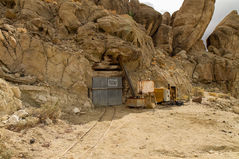 69 Ryan Camp - The Baby Gauge storage tunnel.