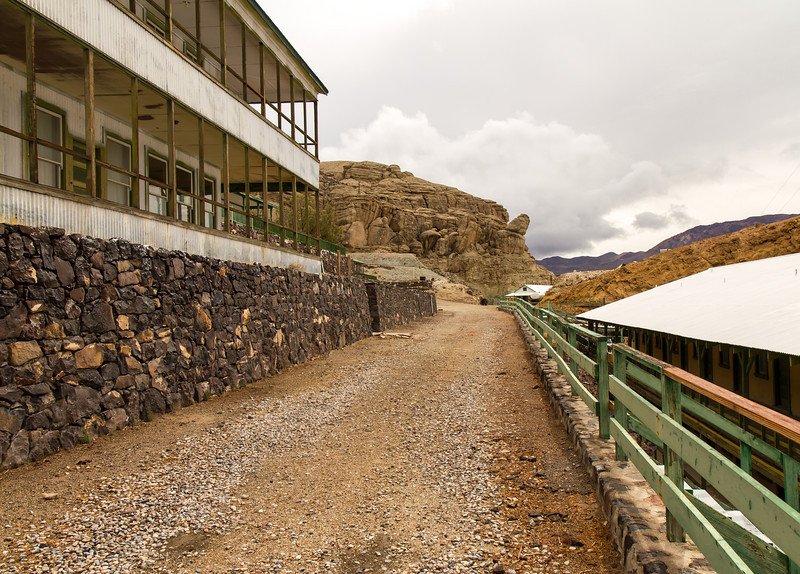 39 Ryan Camp - This was the rail bed for the Death Valley Rail Road.