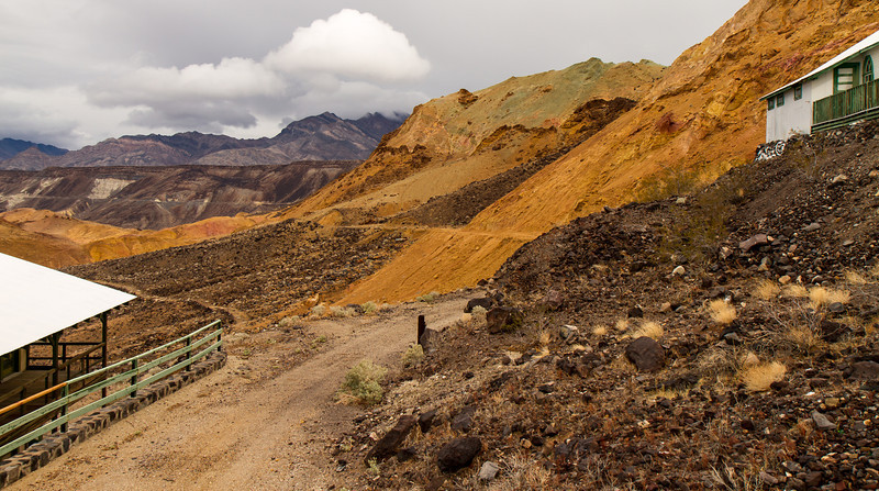 43 Ryan Camp - Old bed of the Death Valley Rail Road.