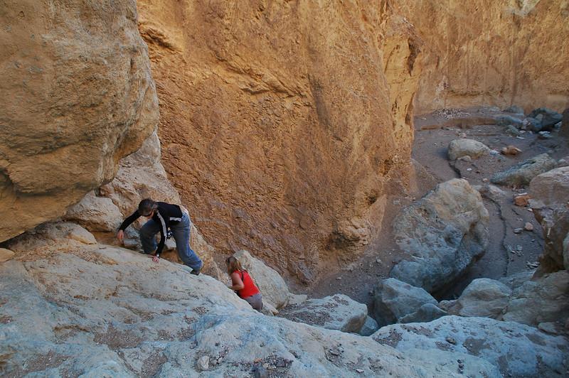 Another climb.