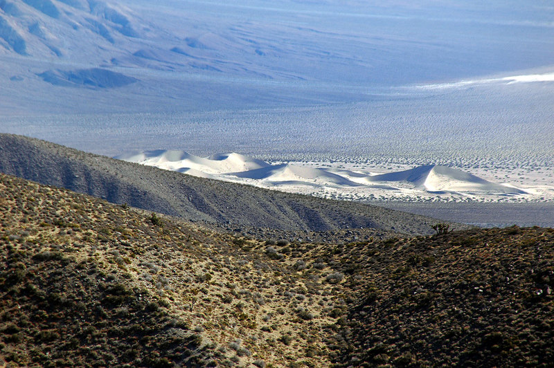 Zoomed in on the Panamint Dunes.