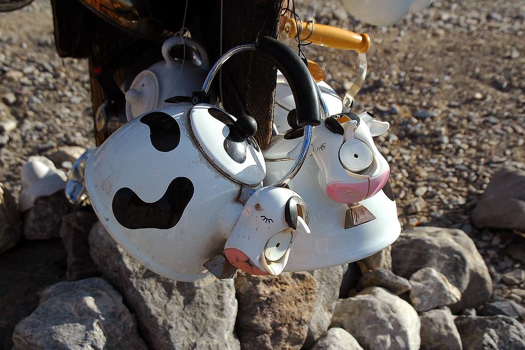 Moo Cow kettles.