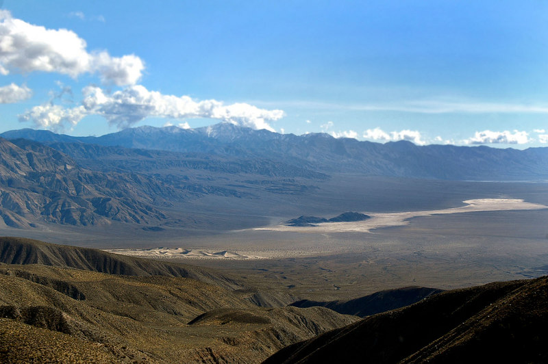 We soon were on the other side looking into Panamint Valley from South Pass.