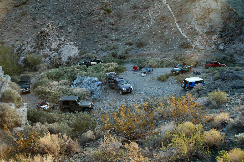Camp the next morning.