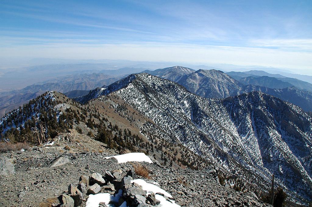 Sentinal Peak to the south.