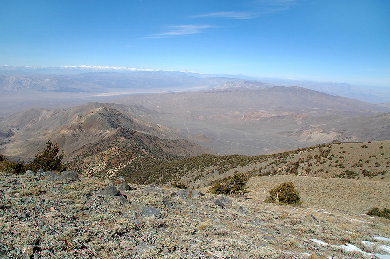 View to the northwest from Arcane Meadows at about 9,600'.