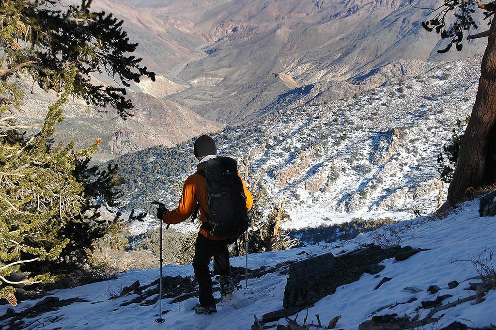 Back on the ridge.