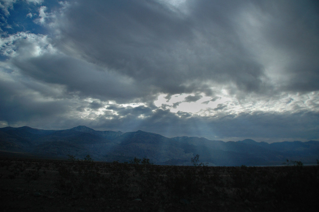 Telescope Peak from the Wildrose Road. It was nice to finally meet Brent and see Jenni again. <br /> <br /> THE END