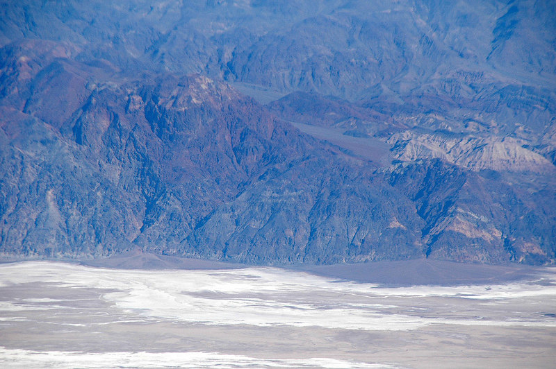 Zoomed in on the Badwater area.