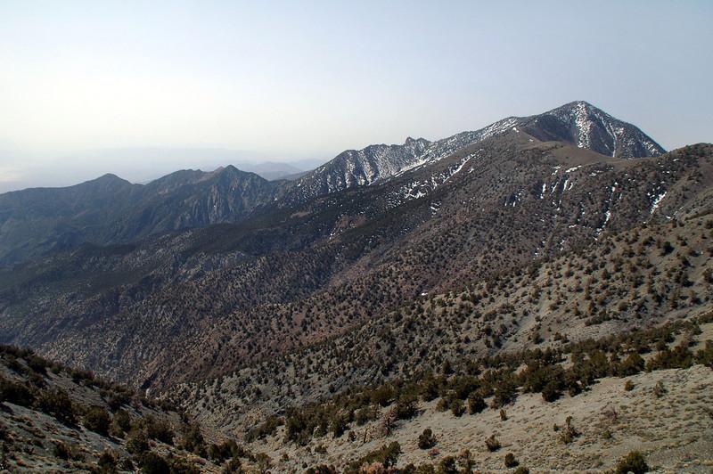 Telecope Peak again and it's east ridge.