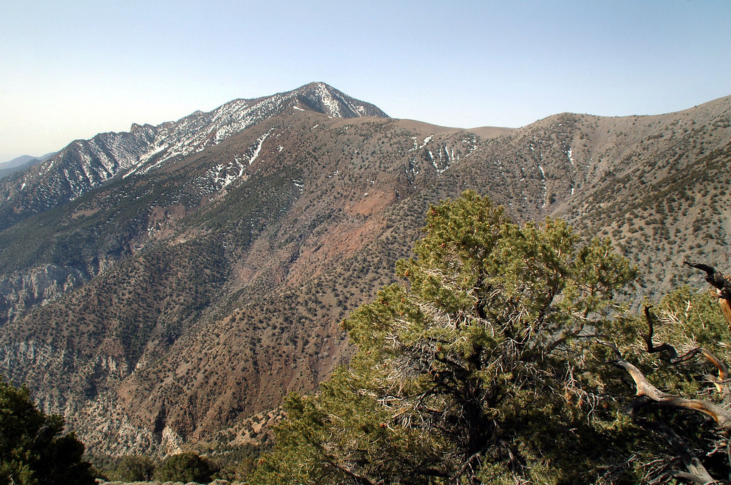 Another view of Telescope Peak and the ridge we will follow to it.