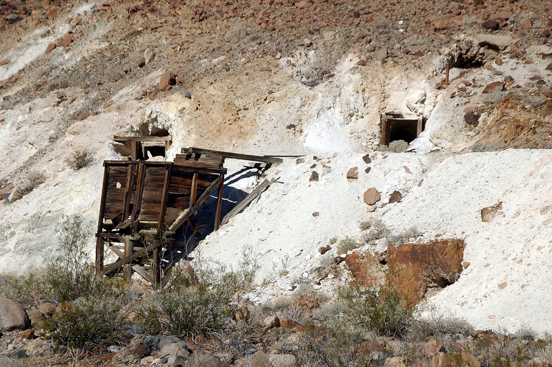 This mine was across the canyon from the Grantham Mine.