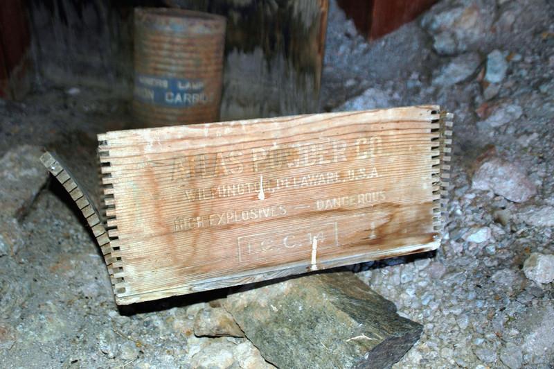 Dynamite box.