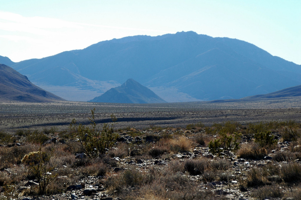 Looking into Butte Valley.