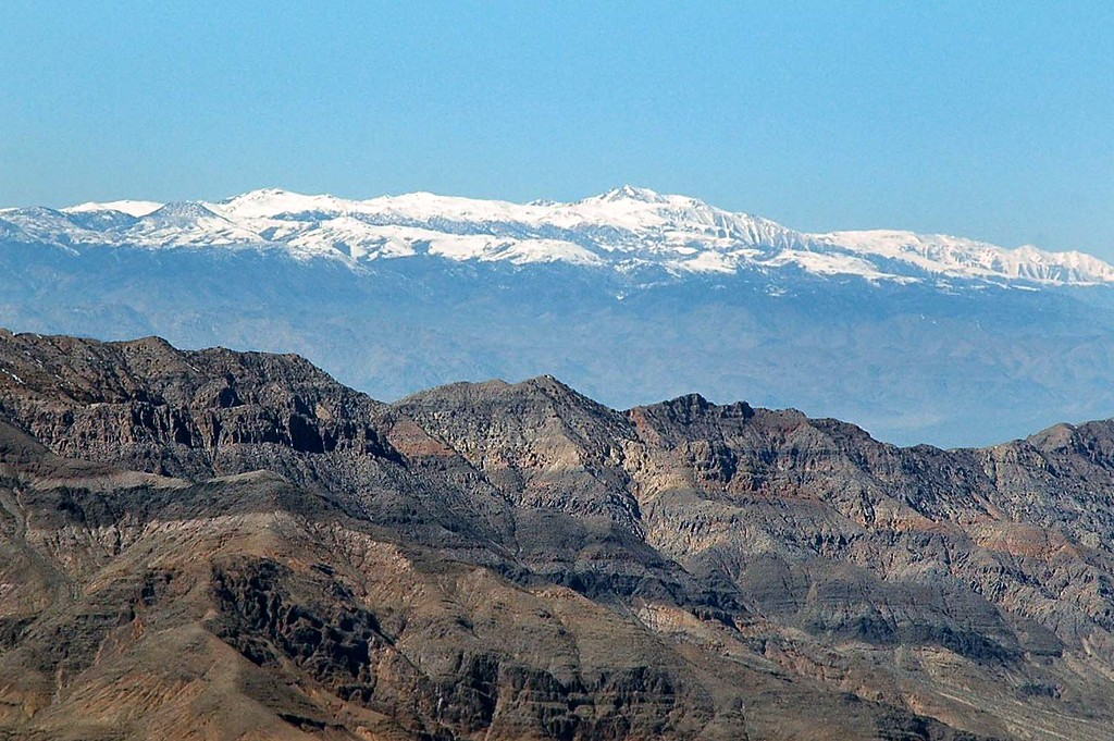 White Mountain, also zoomed in.
