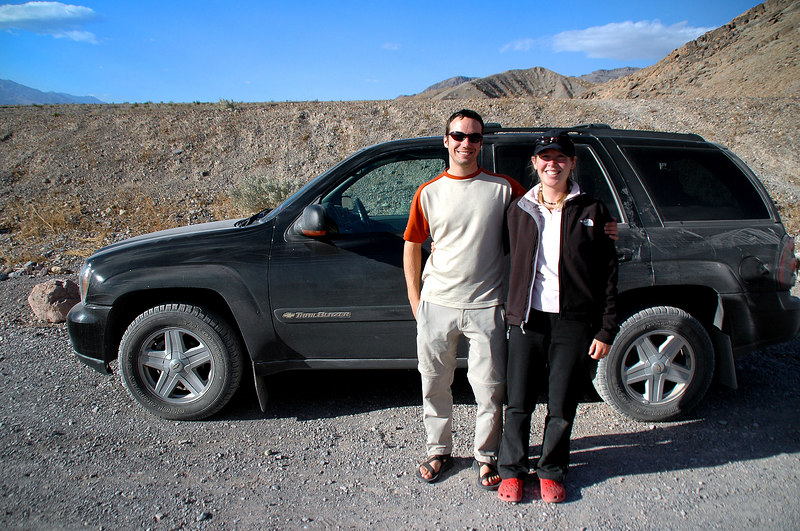 Dave and Rebecca were planing on hiking to Telescope Peak tomorrow so we said good bye to them.