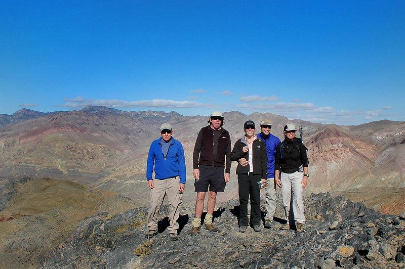 On Thimble Peak 6,381'.