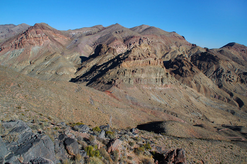 Another view of Red Pass from higher up.
