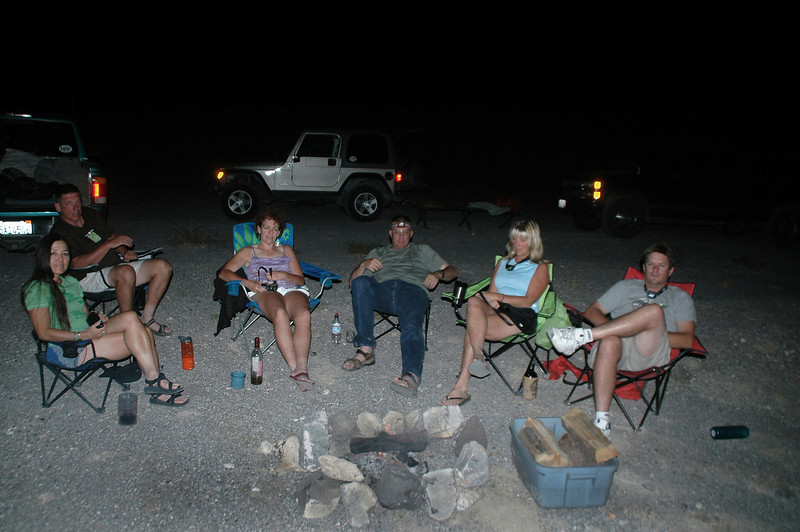 After dinner we headed back up to Towne Pass where we found a camp site for the night.