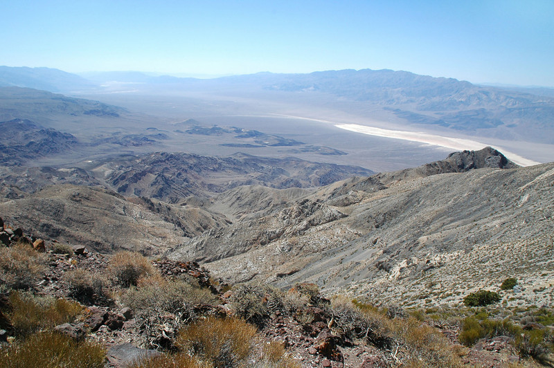 Looking out to the Panamint Valley.