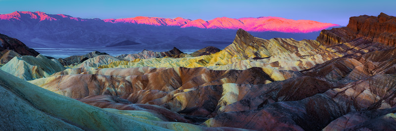 Zabriske Point Death Valley