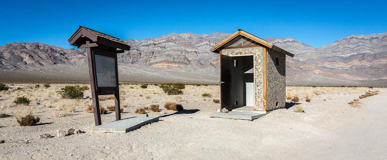 Eureka Dunes latrine