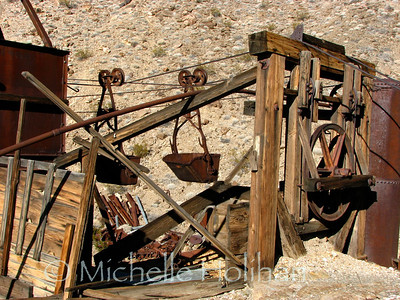 Big Bell Mine ruins