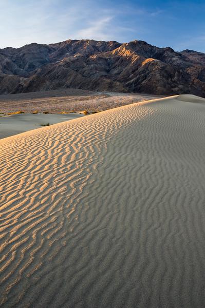 Mesquite Flat Dunes and Tucki Mountain
