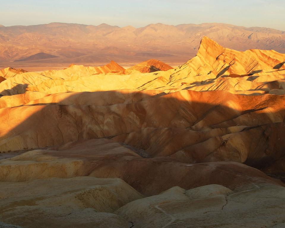 Sunrise, Zabriskie Point Death Valley National Park California