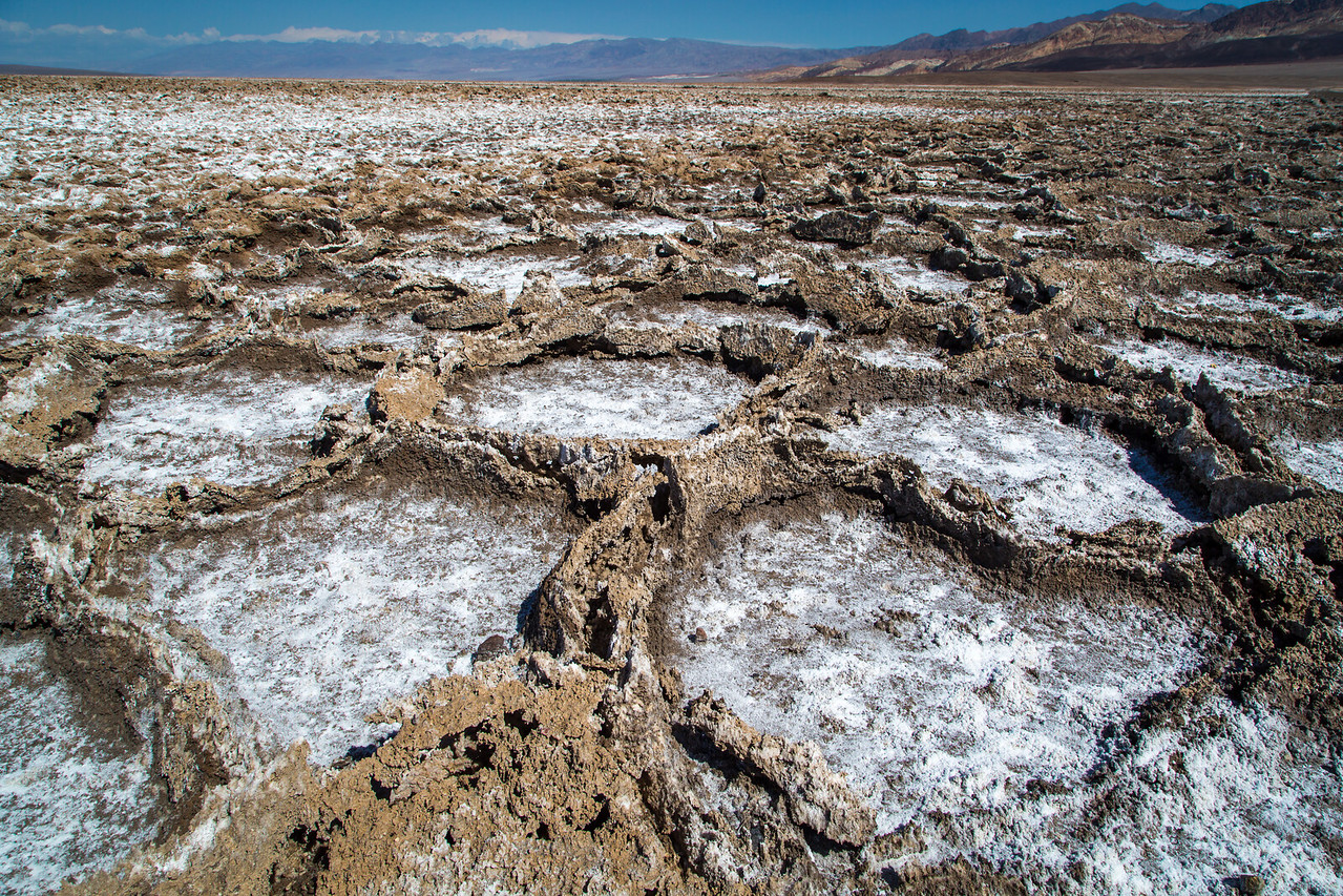 Badwater Basin Salt Formations