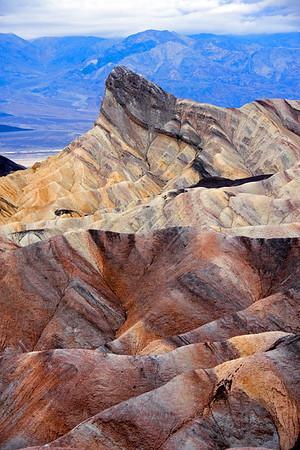 Zabriskie Point at Death Valley National Park.