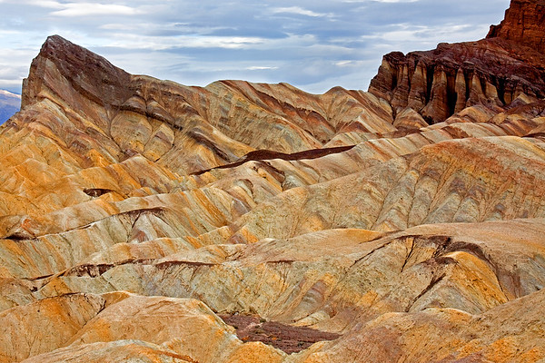 Zabriskie Point at Death Valley National Park.