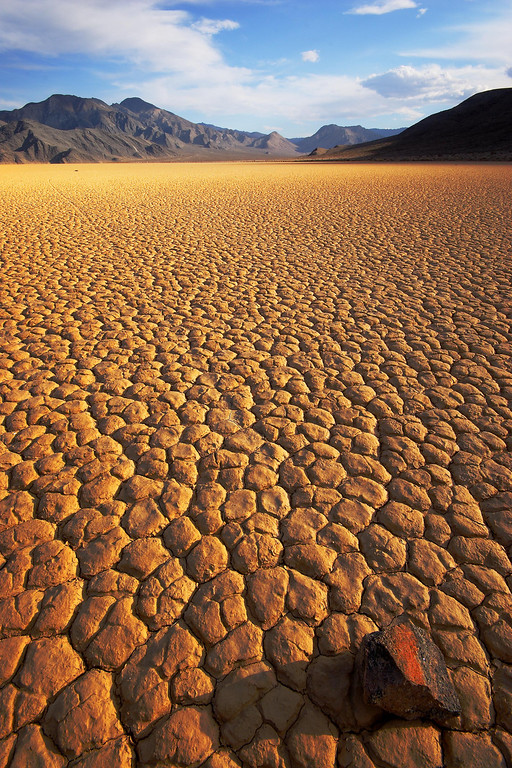 Racetrack Playa, Evening Death Valley National Park California