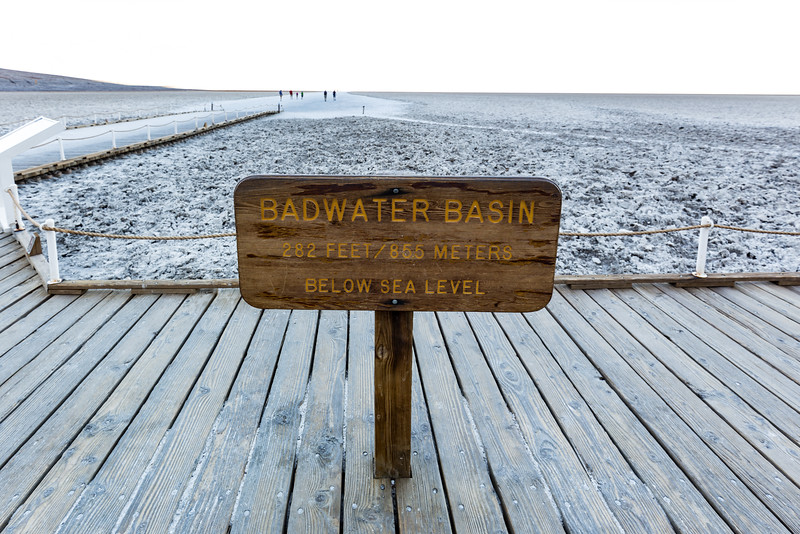 Lowest Point in North America - Badwater Basin