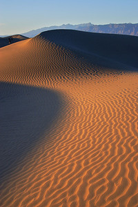 Dune Photographer, Evening Death Valley National Park California
