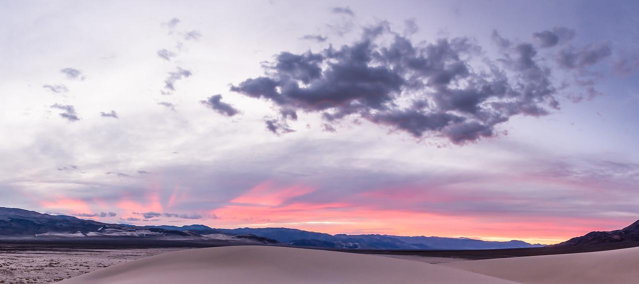 Sunset at Eurika Dunes