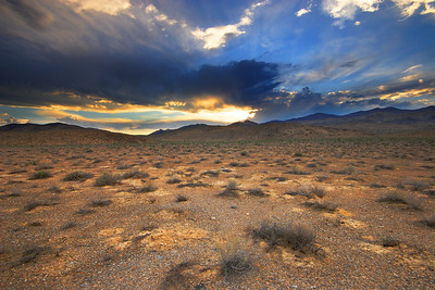 Sunset, Racetrack Road Death Valley National Park California