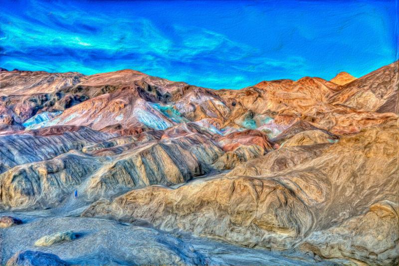 Artist's Palette Texture