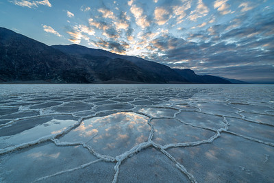 Morning at Badwater